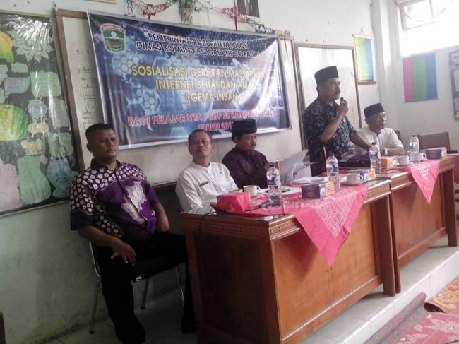 Sosialisasi GEMA INSAN di Kabupaten Solok