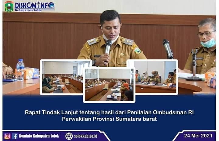 Rapat Koordinasi Kepatuhan Terhadap Standar Pelayanan Publik