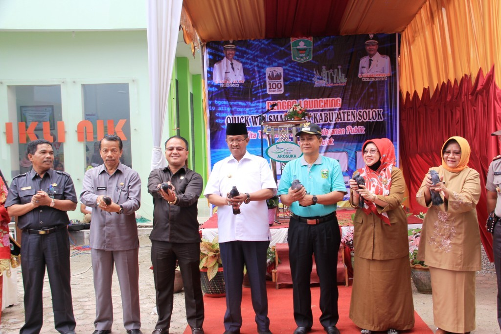 Launching Quick Win Smart City Kabupaten Solok tahun 2019