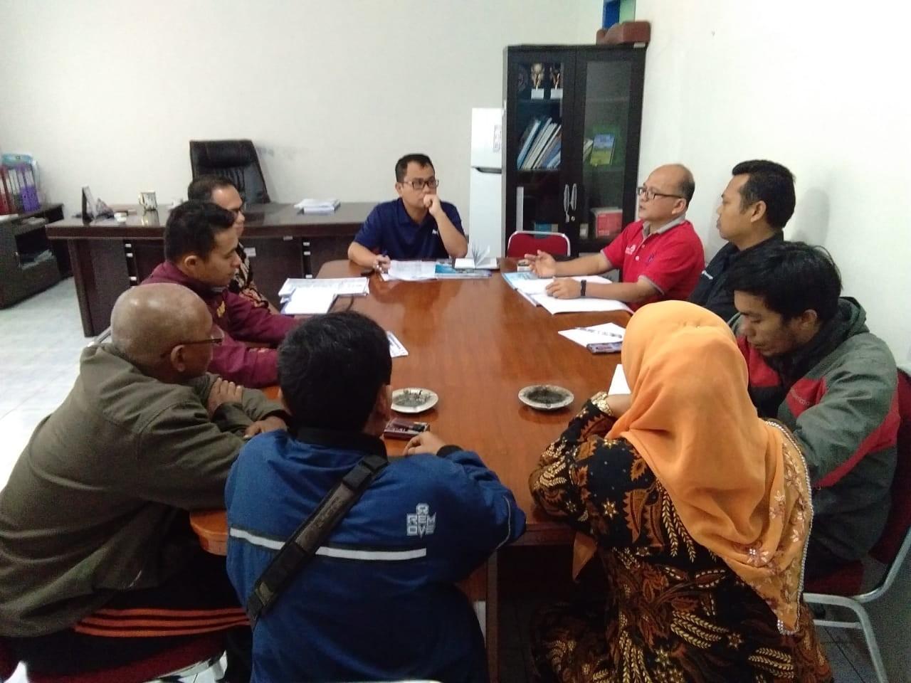 Dinas Kominfo Laksanakan Rapat Percepatan Launching Radio Solok Nan Indah